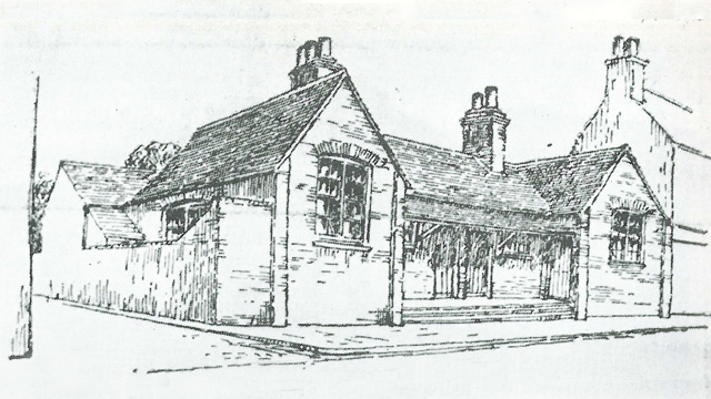 Old grammar school building